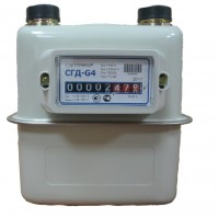 Прибор учета газа бытовой СГД-G4 левый (G1 1/4)